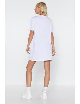 Loves Fucking Dream Tee Dress by Nasty Gal