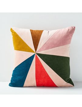 Christina Lundsteen Fan Pillow by West Elm