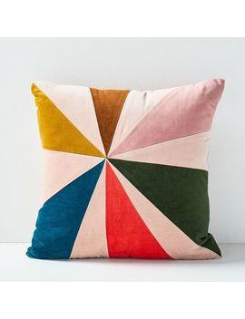 Christina Lundsteen Fan Pillow by West Elm