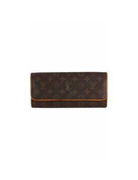 Twin Cloth Clutch Bag by Louis Vuitton