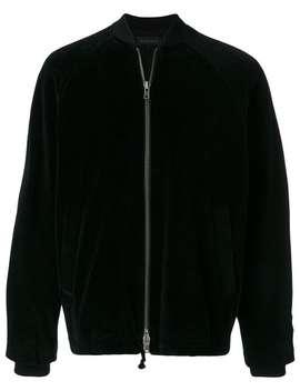 Velvet Bomber Jacket by Ann Demeulemeester