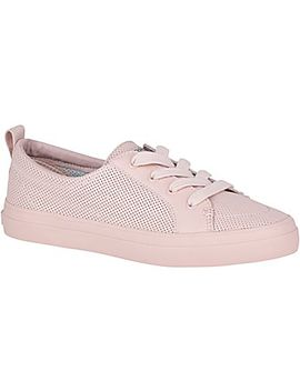Women's Crest Vibe Mini Perforated Sneaker by Sperry