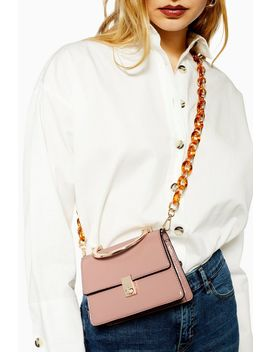 Champagne Cross Body Bag by Topshop