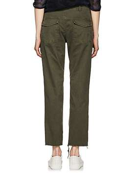 Jenna Cotton Twill Crop Pants by Nili Lotan