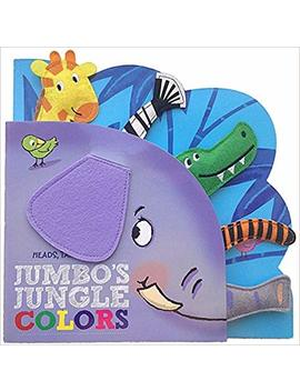 Heads Tails Noses Jumbo's Jungle Colors by Kidsbooks