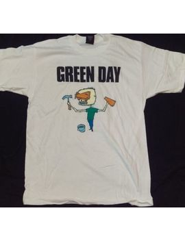 Vintage Green Day Nimrod Tee Shirt 1997 Copyright Punk Rock Music Dookie by Unbranded