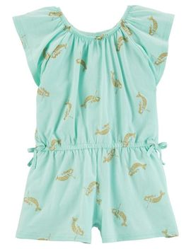 Glitter Mermaid Romper by Oshkosh