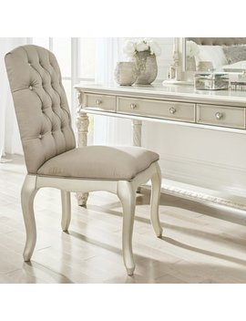 Signature Design By Ashley Cassimore Upholstered Vanity Chair by Signature Design By Ashley