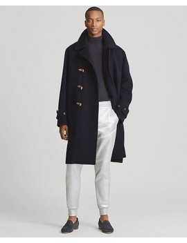 Wool Melton Duffel Coat by Ralph Lauren