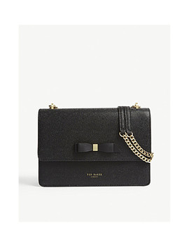 Joanaa Leather Cross Body Bag by Ted Baker