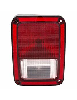 Drivers Taillight Tail Lamp Replacement For 07 17 Jeep Wrangler 55077891 Ah Ch2800177 by Autoandart