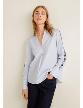 Camisa Debruns Contraste by Mango