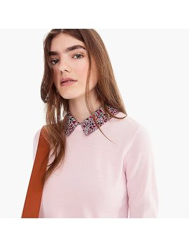 Tippi Sweater With Liberty® Collar by Tippi Sweater With Liberty