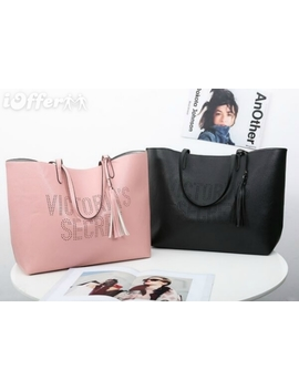 New Victoria Secret Vs Striped Beach Bag Shoulder Bags by I Offer