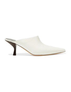 Bourgeoise Leather Mules by The Row