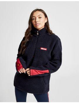 Ellesse Anne Marie Borg 1/4 Zip Sweatshirt by Ellesse