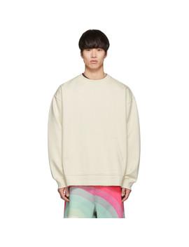Off White Holford Kangaroo Sweatshirt by Dries Van Noten