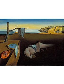 Black Creations The Persistence Of Memory Salvador Dali  Poster Canvas Art Print A4 A3 A2 A1 New Best And Cheap (A4 Poster (210/297mm Or 8.3/11.7inches)) by Black Creations
