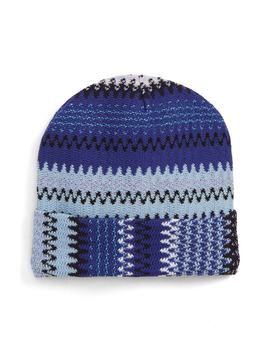 Sparkle Stripe Beanie by Missoni