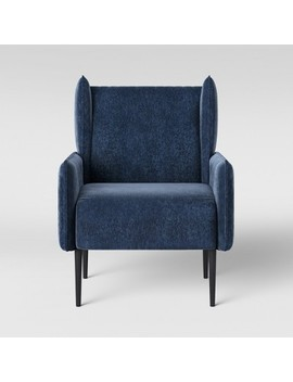 Riverview Modern Accent Arm Chair Indigo   Project 62™ by Project 62