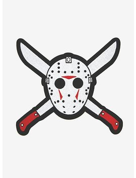 Friday The 13th Jason Vorhees Back Patch by Hot Topic