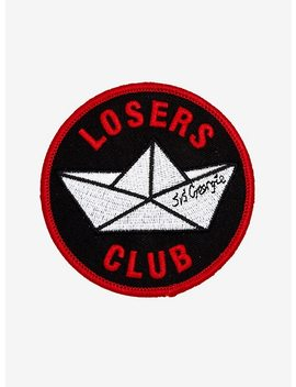 It Pennywise Losers Club S.S. Georgie Paper Boat Patch by Hot Topic