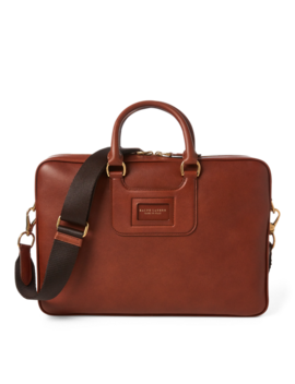 Calfskin Briefcase by Ralph Lauren