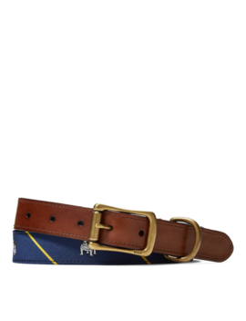 Anchor Tie Silk Belt by Ralph Lauren