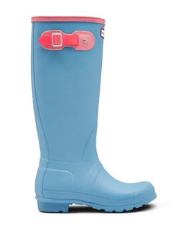 Original Tall Colorblock Waterproof Rain Boot by Hunter