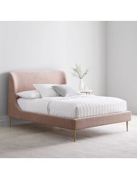 Lana Upholstered Bed by West Elm