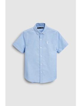 Short Sleeve Oxford Shirt (3yrs 16mths) by Next