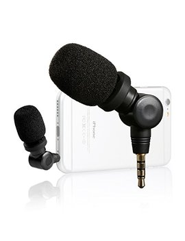 Saramonic I Mic Flexible Condenser Microphone Mic With High Sensitivity For Apple Ios I Pad Mini Air Smartphone I Phone 6/6s/7/8 Plus Sumsung Galaxy Lg by Saramonic