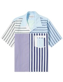 Maison Margiela 10 Multi Pattern Vacation Shirt by End.