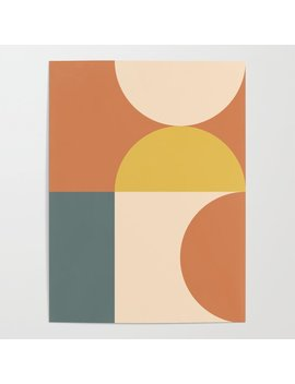 Abstract Geometric 04 Poster by