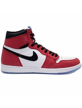 Nike Men's Air Jordan 1 Retro High Og 'origin Story' Red/White 555088 602 by Nike