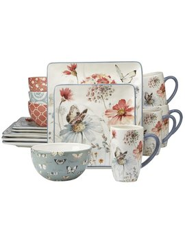 August Grove Fullen 16 Piece Dinnerware Set, Service For 4 & Reviews by August Grove
