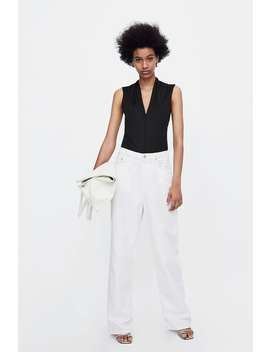 V  Neck Bodysuitstarting From 50 Percents Off Woman Sale by Zara