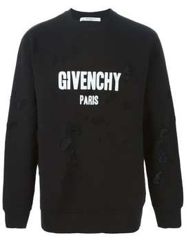 Distressed Effect Sweatshirt by Givenchy