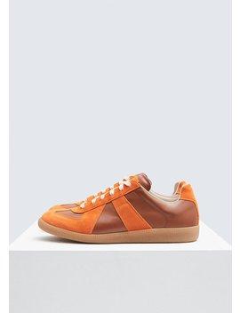 Suede Replica Sneaker by Maison Margiela