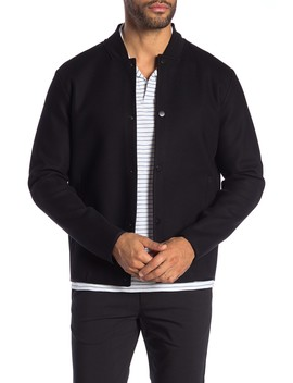 Bonded Force Bomber Jacket by Theory