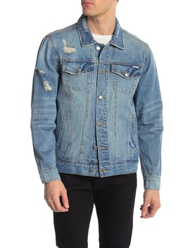 Distressed Denim Jacket by Ovadia And Sons