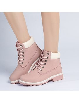 2018 Hot New Autumn Early Winter Shoes Women Flat Heel Boots Fashion Keep Warm Women's Boots Brand Woman Ankle Botas Camouflage by Vrlvcy
