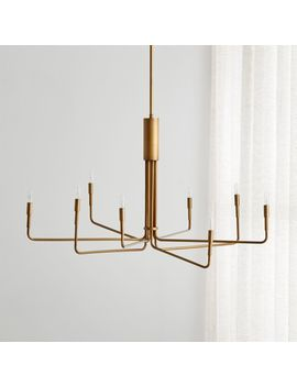 Clive 8 Arm Brass Chandelier by Crate&Barrel