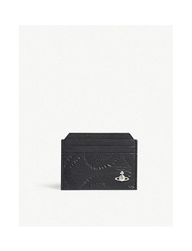 Folding Leather Card Holder by Vivienne Westwood
