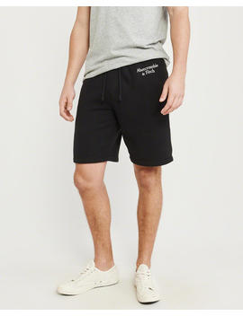 Embroidered Logo Shorts by Abercrombie & Fitch