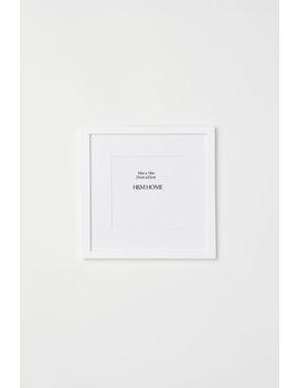 Drewniana Ramka 25x25 Cm by H&M