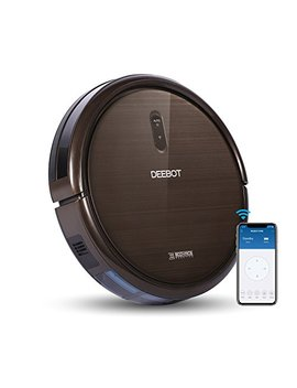 Ecovacs Robotics Deebot N79 S Robot Vacuum   High Suction With Beater Brush, Auto Self Charging, Drop Sensor, Alexa & App Connect, Works On Hard Floor & Carpet   2 Year Warranty by Ecovacs