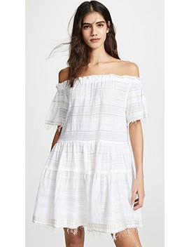 Kelali Off Shoulder Dress by Lemlem