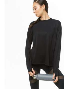 Active Vented Sweatshirt by Forever 21