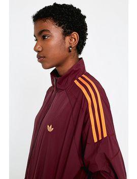 Adidas Originals Flamestrike Wine Track Jacket by Adidas Originals
